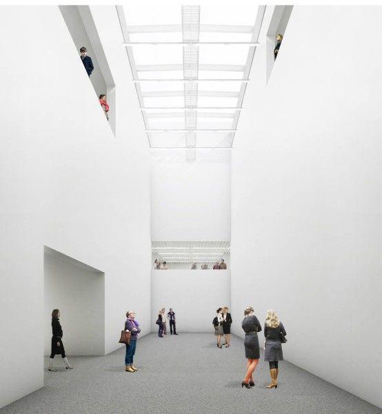 Kuehn Malvezzi . Saarland Museum Modern Gallery expansion.  Saarbrücken (1)