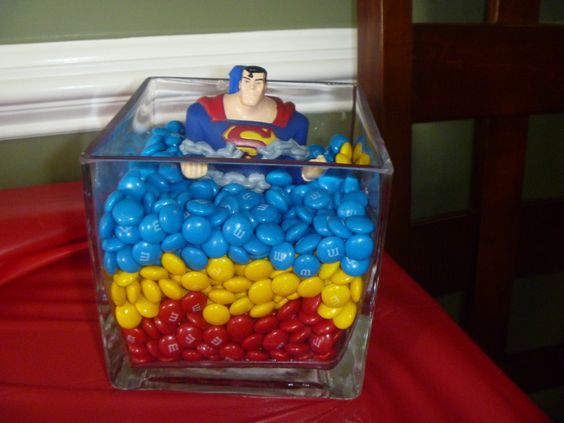 Decoration  Superman Birthday Party  Pinterest  Dolls, Superman ...