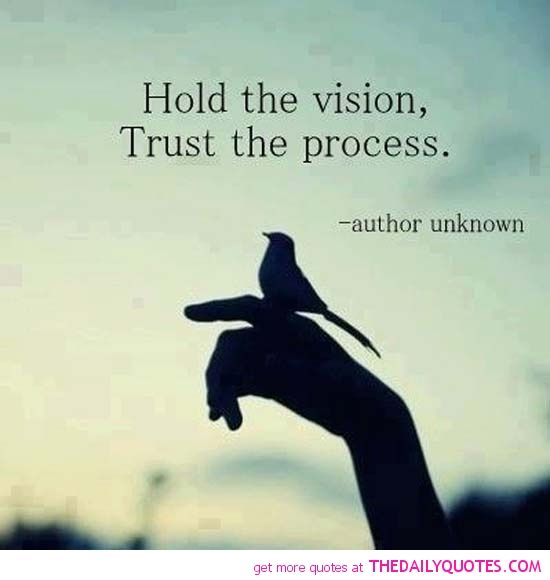 Trust the force.... Hold the vision about us baby..the universe will further conspire to bring us together for ever....