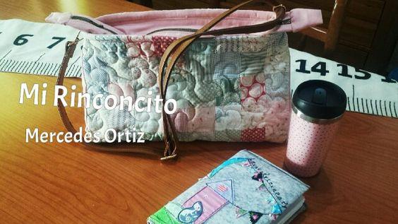 #Bolso #bandolera #patchwork #Quilts #patchworkamaquina @mirinconcito19 #zalamealareal