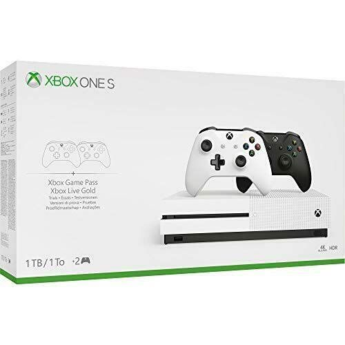 Xbox One S Two Controller Bundle 1tb Includes Xbox One S 2 Wireless Controllers 1 Month Game Pass Trial 14 Day Xbox Live Gold Trial In 2020 Xbox One Xbox One S 1tb