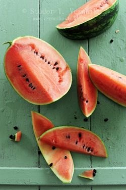 Who wants a piece of #watermelon  in the hot day