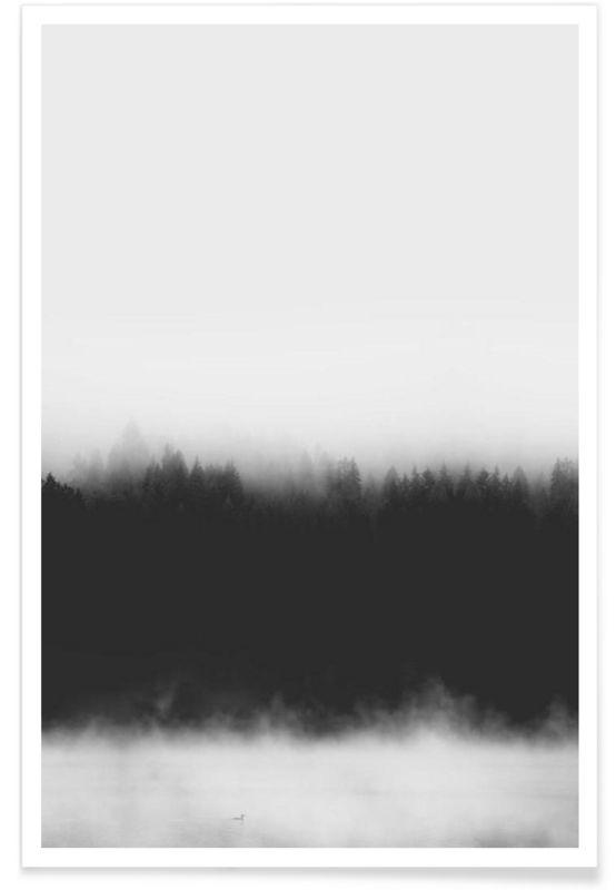 Landscape No. 37 as Premium Poster by typealive | JUNIQE