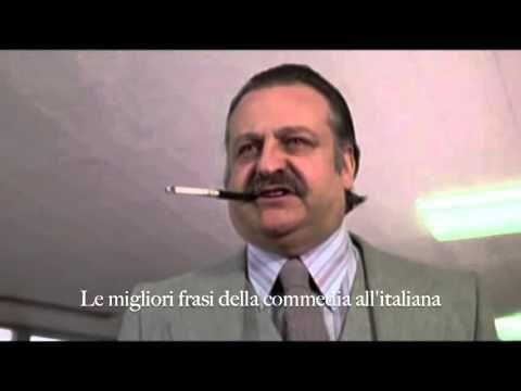 """Fantozzi - partita a biliardo con l'On. Cav. Conte Diego Catellani - """"Ti..."""