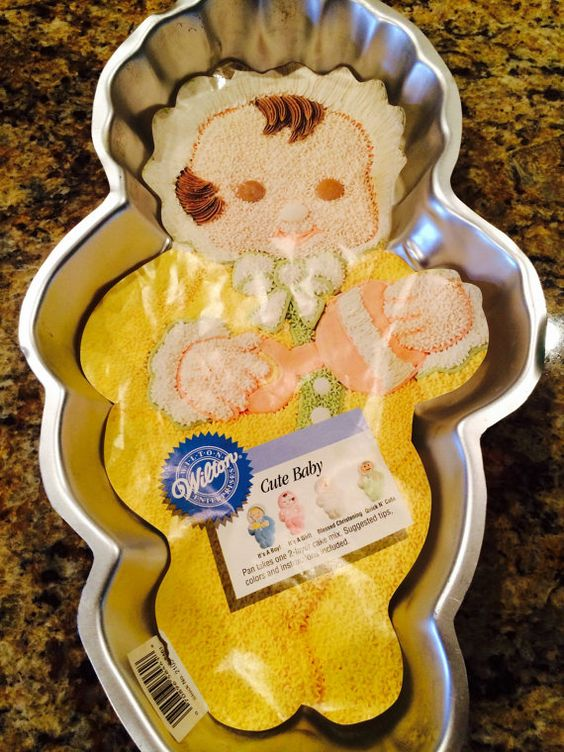 Character Cakes Cute Babies And Cake Pans On Pinterest