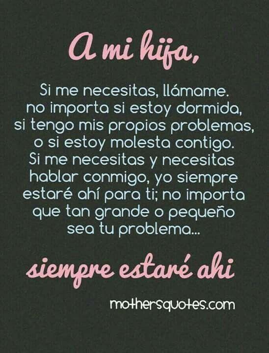A Mis Hijas Frases Hijos Amor Frases De Madre E Hija Y