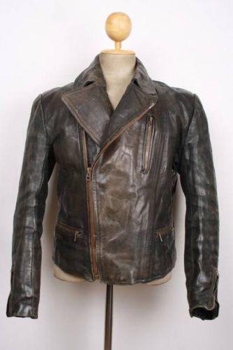 Canada Goose toronto online store - Vtg 1930s AERO German HORSEHIDE Leather Motorcycle Jacket ...