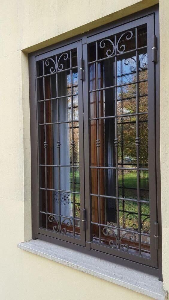 Elegant Window Grill Designs Ideas For Homes Engineering Discoveries Modern Window Grill Window Grill Design Modern Window Grill Design Contemporary house window design