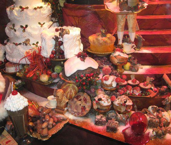 christmas party food   Christmas party food at the Stahlbaum's