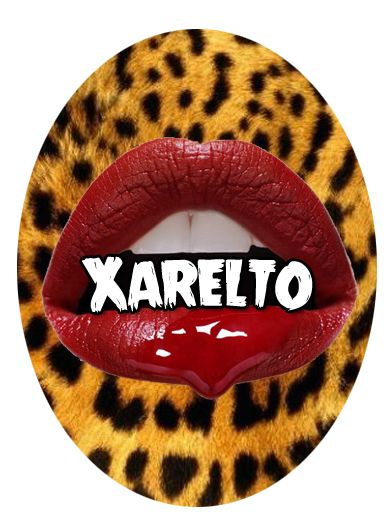 Special design from ProjectPinUp  Turning the worst thing that has ever happened to me into a wicked cool design  #leopardprint #cameo #bloodylips #redlips #xarelto