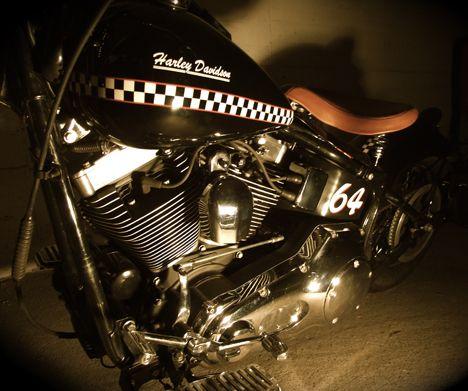 Photo of 2005 Harley Davidson Twin Cam 88 engine.