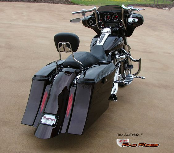 Ron's Rad Rides, LLC (Harleys, Choppers, Specialty Vehicles, Muscle Cars...) - 11 Street Glide Customized