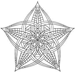 Geometrip.com - Free Geometric Coloring Designs - Shapes