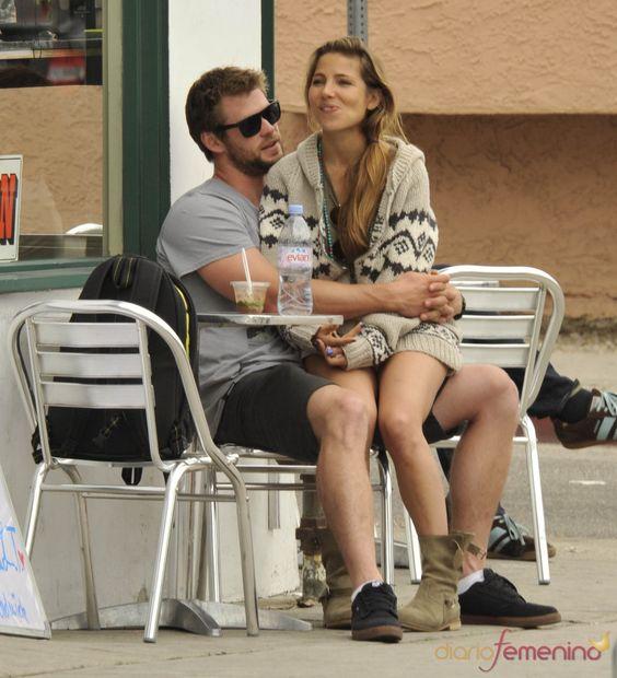 Chris Hemsworth and Elsa Pataky.... So cute :)