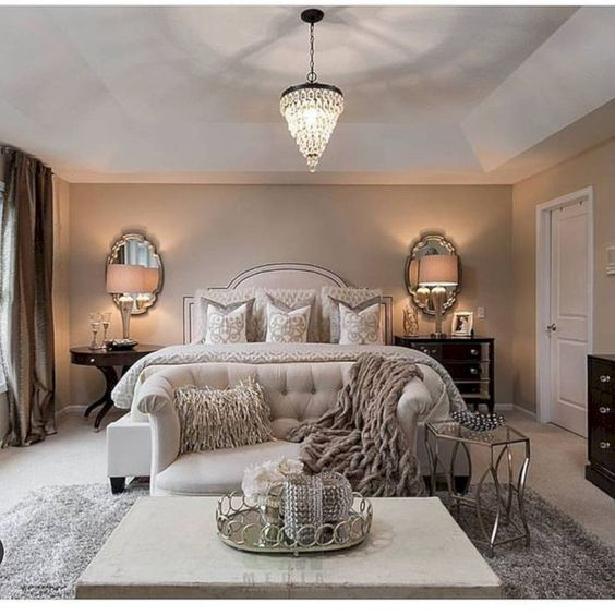 Roundecor Home Decoration Ideas Glamourous Bedroom Remodel Makeover