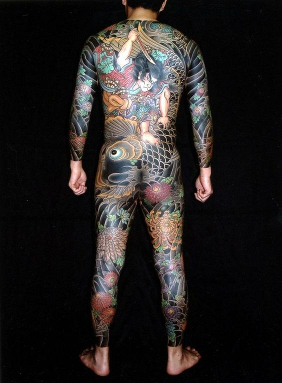 Yakuza Tattoo Designs And Meanings