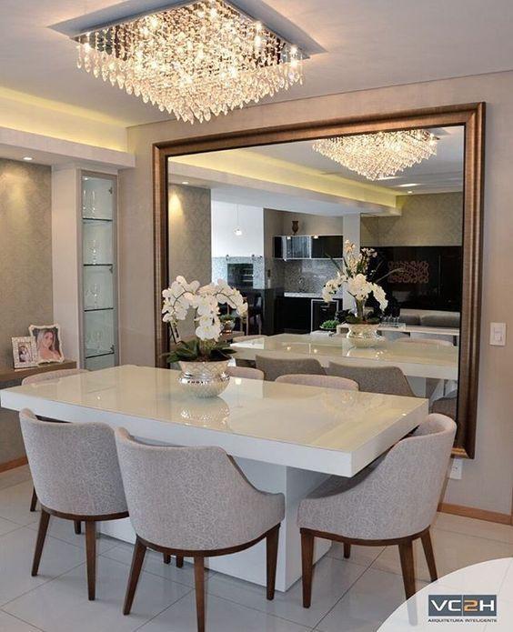 Comedores Modernos Y Elegantes Comedores Modernos Comedores Modernos Y Elegantes Comedores Modernos Mirror Dining Room Dining Room Small Elegant Dining Room
