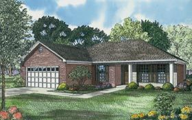 Ranch   Traditional   House Plan 82101