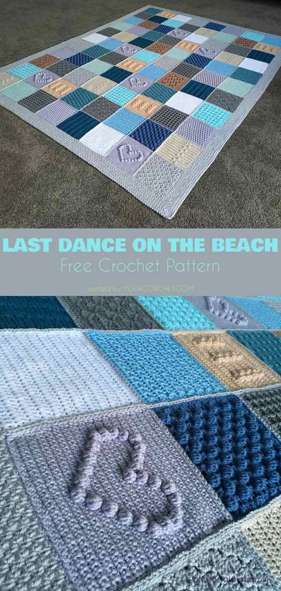 Last Dance on the Beach Blanket Free Crochet Pattern