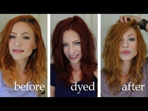 Lightening Or Removing Dye With Vitamin C And Shampoo Youtube Hair Dye Removal Hair Color Remover How To Lighten Hair
