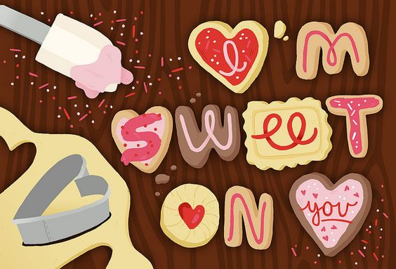 cookie letters: