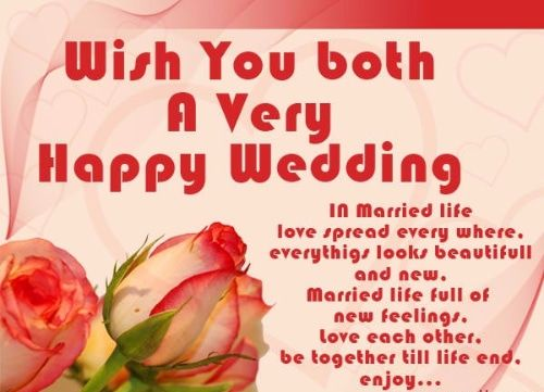 52 Happy Wedding Wishes For On A Card Happy Wedding Wishes Wedding Greetings Marriage Wishes Quotes
