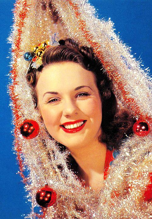 Deanna Durbin, 1944 (my friend Deanna was named after her)