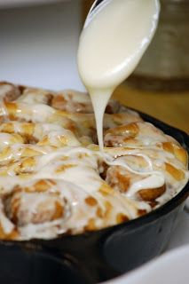 Cast Iron Cinnamon Rolls- can't wait to try these! I love my cast iron pan