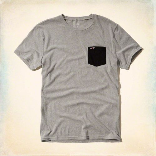Must-Have Contrast Pocket T-Shirt