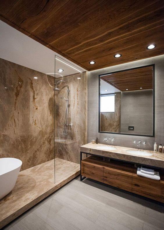 30 idées de salle de bain moderne | Deco en 2019 | Salle de ...