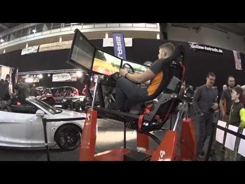 Fahrsimulator Offroad Automobilmesse Erfurt 2015