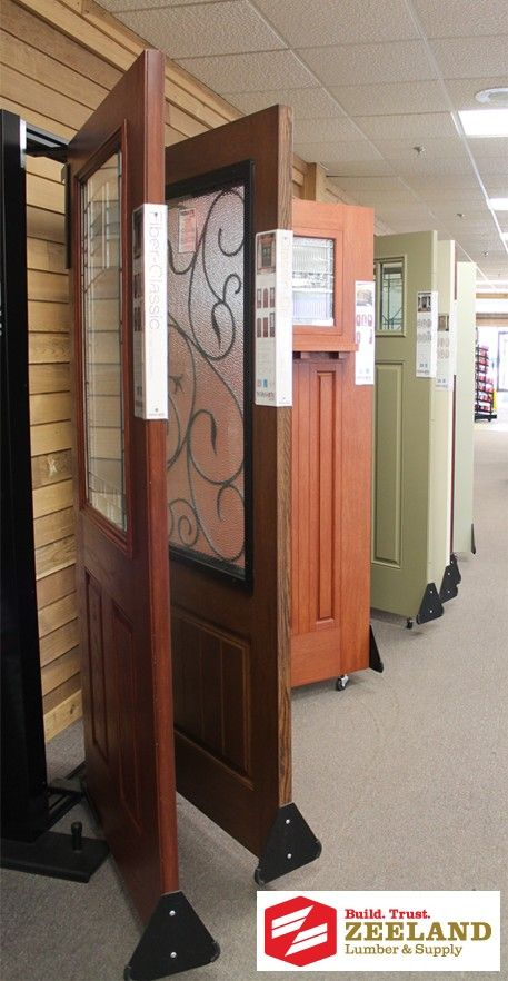 Zeeland Lumber & Supply Showroom: Exterior Doors