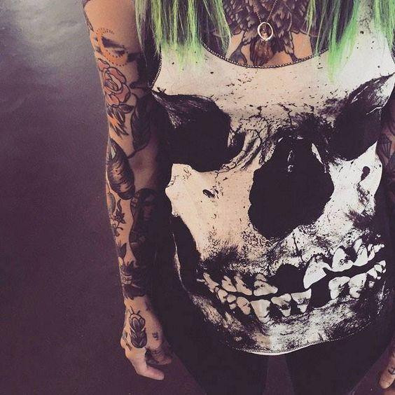 Iron Fist, skulls for life ;)  Iron Fist