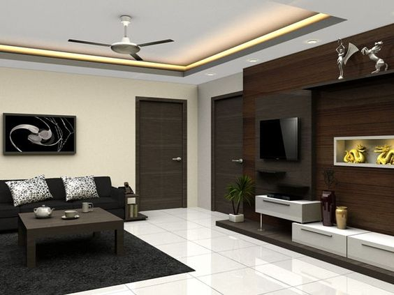 False ceiling design design for kitchen and ceiling for Simple false ceiling designs for living room