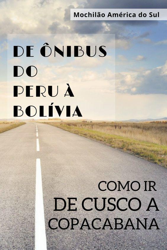 Como ir de Cusco a Copacabana de ônibus