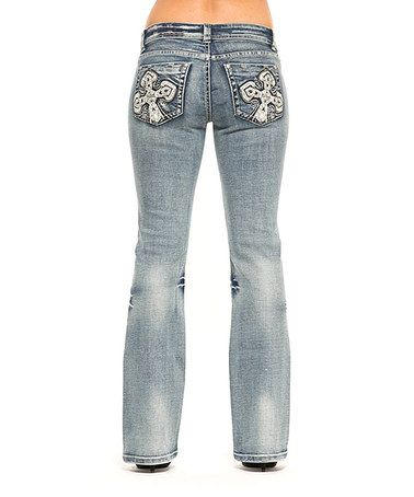 RED by Rose Royce Lightning Sarah Bootcut Jeans | Great deals ...