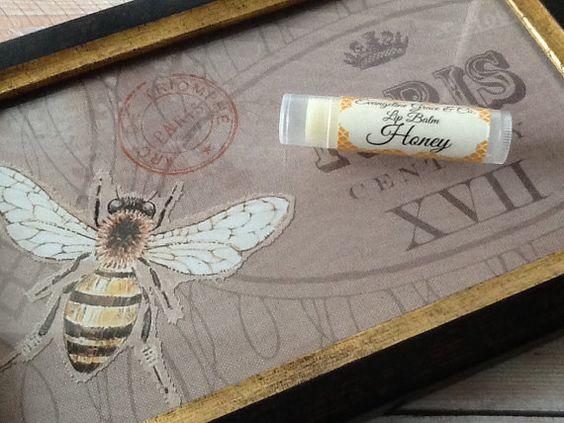 Honey Lip Balm by EvangelineGraceCo on Etsy, $2.00