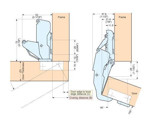 Concealed Hinges H160 34 28 H160 C34 28concealed Hinge 28mm Overlay Concealed Hinges Floor Plans Hinges