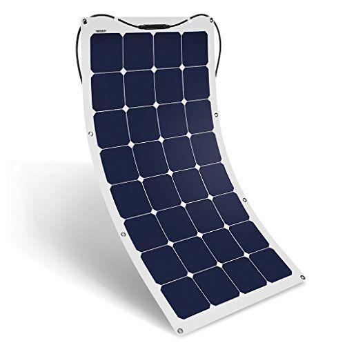 Suaoki 100w 18v 12v Solar Panel Charger Sunpower Cell Ult Https Www Amazon Com Dp B01dxynga0 Ref Flexible Solar Panels Solar Panel Charger 12v Solar Panel