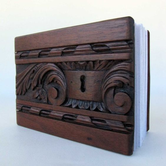 love these wooden books/albums!!!!