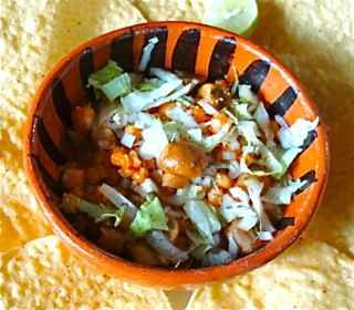 Pozole Rojo Vegetariano   Receta Mexicana