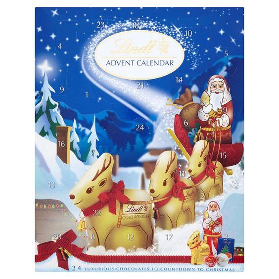 Starting December in the Christmas spirit - Lindt Advent Calendar at Ocado