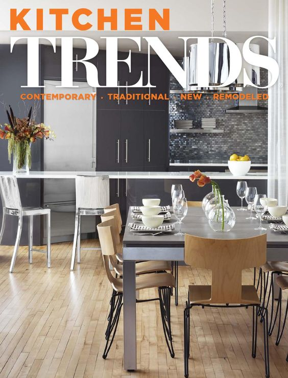 KITCHEN TRENDS USA Vol 30/06  Remodeled Kitchens, Kitchen Design, Making Connections, Contemporary Kitchens