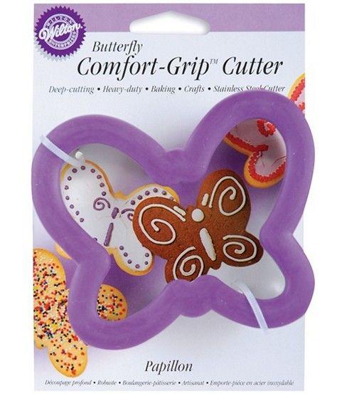 Wilton Comfort-Grip Cookie Cutter-Butterfly at Joann.com