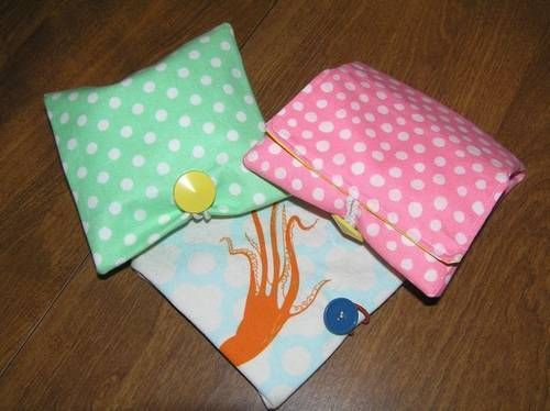 Oilcloth snack pouches - PURSES, BAGS, WALLETS