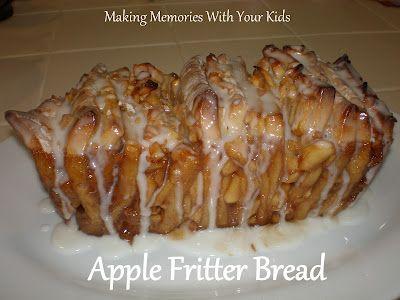 Apple Fritter Bread: Sweet Breads, Breads Biscuit, Breads Sweet, Apple Fritter Bread, Apple Fritters, Food Breads, Recipes Breads