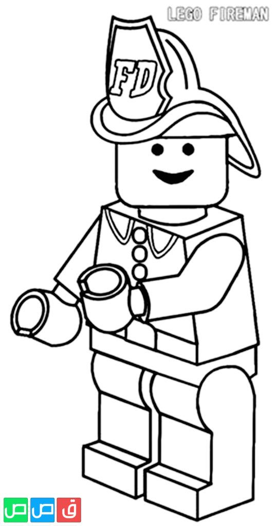 صور تلوين للاطفال In 2020 Lego Coloring Pages Lego Coloring Coloring Pages Inspirational