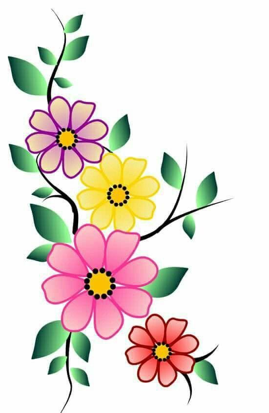 Flor Colorida Desenhos A Lapis De Flores Desenho Do Girassol
