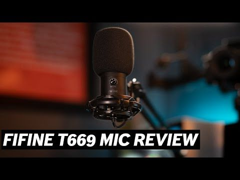 Fifine T669 Usb Mic Review Https Www Youtube Com Channel Uc26rpmzbr2zass0nd0pwxjg If You Re Looking For A Great Usb Condenser In 2020 Usb Microphone Mic Microphone
