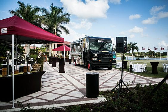 """TRUCK will periodically serve as the """"92nd Hole"""" for the resort's five outstanding golf courses, cater local events and parties, and join major food truck expos and """"invasions"""" throughout Broward andPalm Beach counties."""